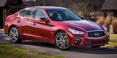 Infiniti Red Sport performance brand launched, turbo six to lead the way
