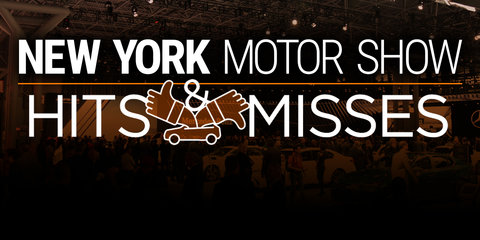 2016 New York motor show: Hits and misses
