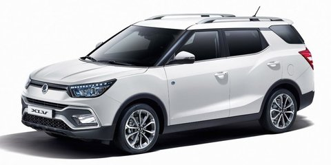 Ssangyong XLV revealed