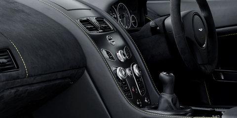 Aston Martin V12 Vantage S gains manual option, but not for Australia - UPDATE