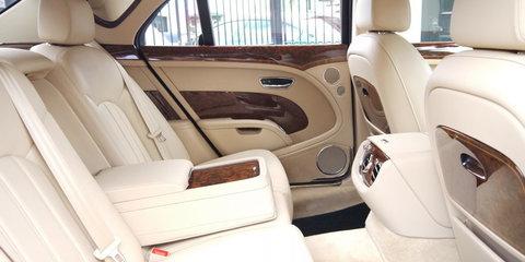 Queen Elizabeth II's Bentley Mulsanne goes on sale