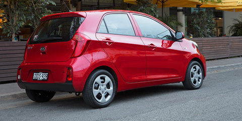 2016 Kia Picanto pricing and specifications