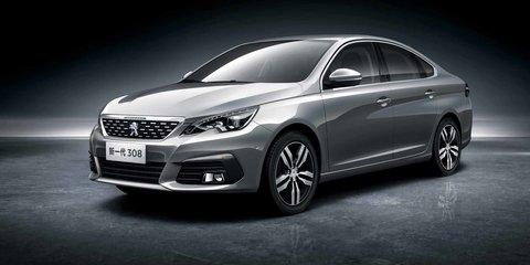Peugeot 308 sedan, 3008 facelift revealed for Chinese market