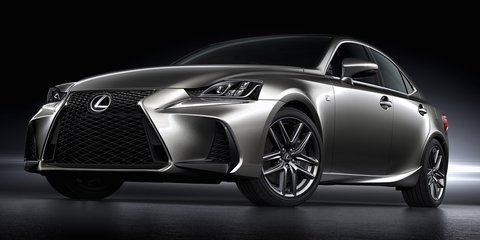 2017 Lexus IS facelift unveiled - UPDATE