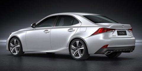 2017 Lexus IS facelift unveiled - UPDATE
