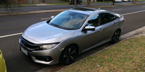 2017 Honda Civic spotted in Melbourne ahead of Australian launch