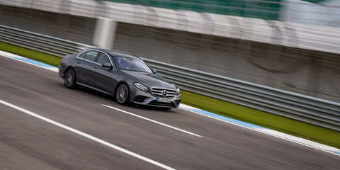 2017 Mercedes-Benz E400 4Matic Review: Track test
