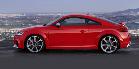 2017 Audi TT RS revealed: 294kW performance pair due here next year