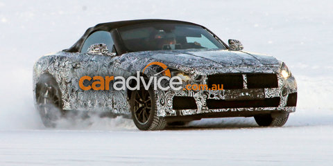 BMW 'Z5' spied in the snow, new details emerge