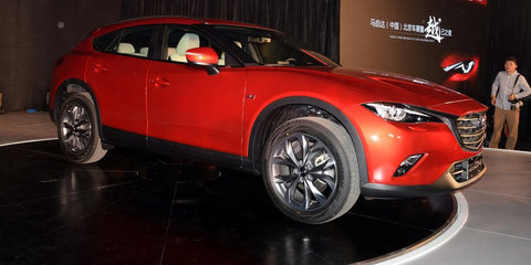Mazda CX-4 unveiled in Beijing