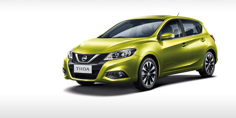 Nissan Pulsar 'Euro' gets Tiida-badged facelift for China