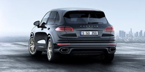 2017 Porsche Cayenne Platinum pricing and specifications