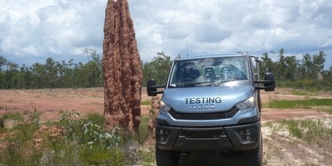 2016 Iveco Daily 4x4: rigorous outback testing completed ahead of local launch