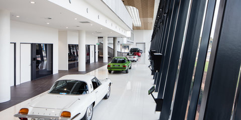 Mazda Australia's swanky new headquarters with collection of classics opens