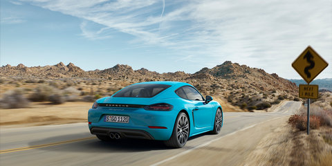 2016 Porsche 718 Cayman pricing and specifications