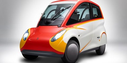 Shell unveils ultra-efficient city car concept