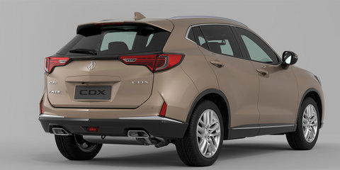 2016 Acura CDX unveiled in Beijing