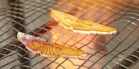 Art and cars: Aston Martin V8 Vantage GTE racers get bespoke badging