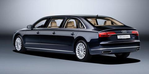 Audi A8L Extended: bespoke six-door limousine revealed