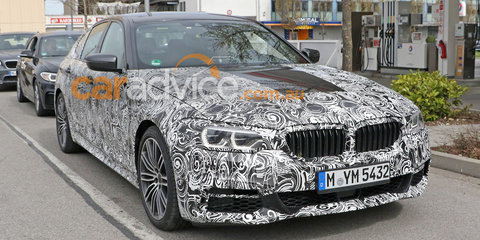 2017 BMW 5 Series previewed with Remote 3D View