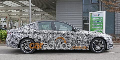 2017 BMW 5 Series M Sport sedan exterior and interior spy photos