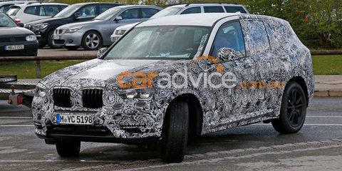 2017 BMW X3 interior spied
