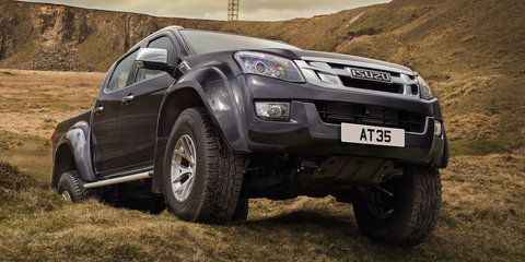 2016 Isuzu D-MAX AT35 unveiled: ready to tackle the Arctic, but not Australia