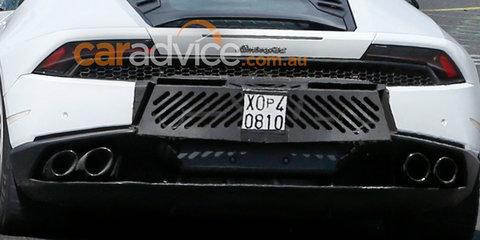 2017 Lamborghini Huracan Superleggera spied at the Nurburgring