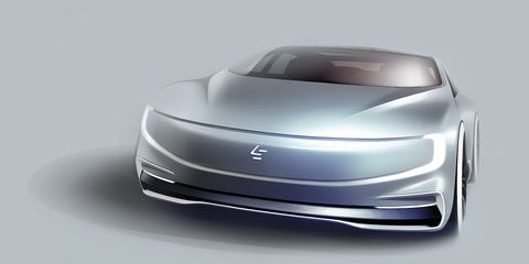 LeEco LeSee electric sedan revealed for Beijing motor show