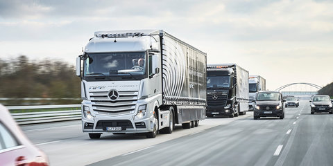 Autonomous and human-driven trucks head into European platooning challenge