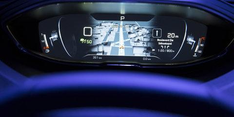 New Peugeot i-Cockpit interior technology revealed