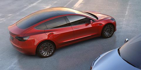Tesla Model 3 unveiled, Australian debut due 2018