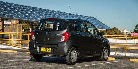 Micro Car Comparison: Holden Spark v Kia Picanto v Mitsubishi Mirage v Suzuki Celerio v Hyundai Accent