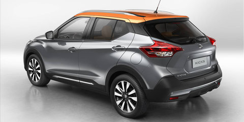 Nissan Kicks 'Color Studio' launches in the US