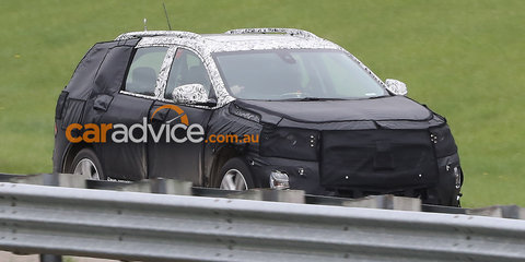 2017 Holden Captiva spied testing in Chevrolet guise