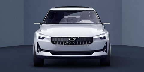 2018 Volvo XC40 previewed alongside jacked-up 'V40.2' concept