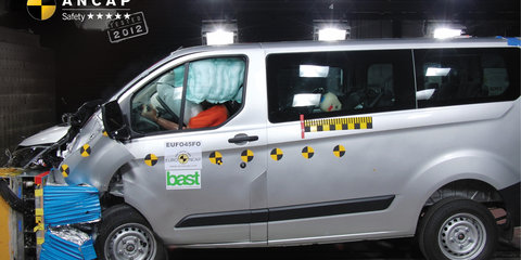 Ford Transit Custom, Mercedes-Benz Vito vans get five-star ANCAP crash ratings