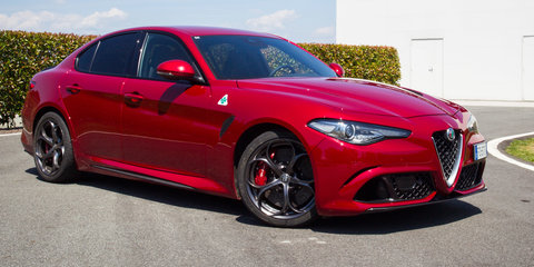 alfa romeo giulia review specification price caradvice. Black Bedroom Furniture Sets. Home Design Ideas