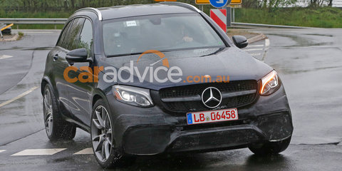 2017 Mercedes-AMG GLC63 spied almost without camouflage