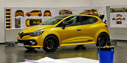 Renault Clio RS 16 concept unveiled with Megane RS power - video