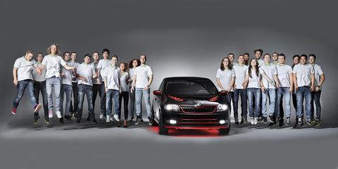 Skoda Atero: apprentices unveil 'dream coupe' project