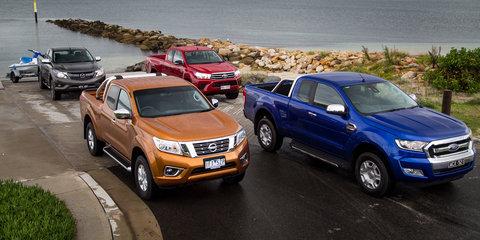 Extra-cab ute comparison: Ford Ranger v Mazda BT-50 v Nissan Navara v Toyota HiLux