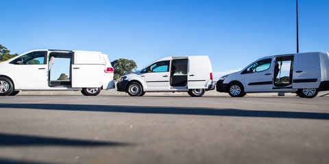Budget van comparison: Citroen Berlingo v LDV G10 v Volkswagen Caddy