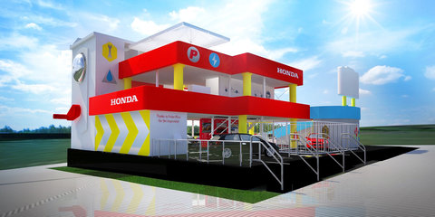 Honda reveals another toy-inspired stand for Goodwood festival