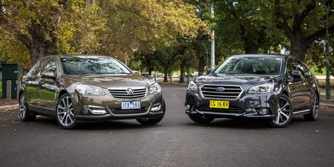 Holden Calais V v Subaru Liberty 3.6R Comparison