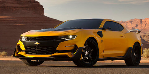 'Bumblebee' Chevrolet Camaro revealed for new Transformers film