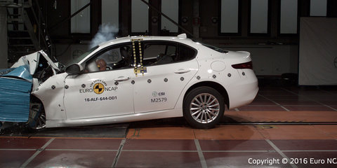 2017 Alfa Romeo Giulia, Volkswagen Tiguan earn five-star Euro NCAP safety ratings