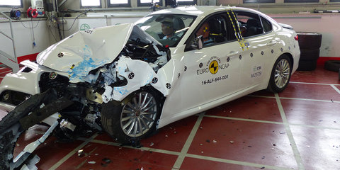 2017 Alfa Romeo Giulia, Volkswagen Tiguan earn five-star Euro NCAP safety ratings