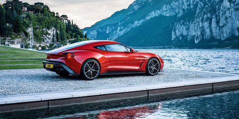 2016 Aston Martin Vanquish Zagato Coupe: production version revealed - UPDATE