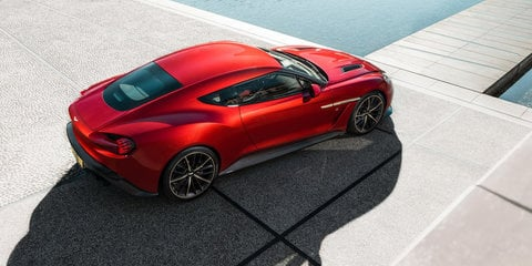 2016 Aston Martin Vanquish Zagato Coupe:: production version revealed - UPDATE